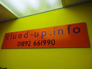 Clued up Info shop interior in Crowborough